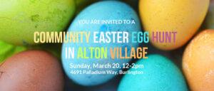Community Easter Egg Hunt in Alton Village @ St. George's Anglican Church   Burlington   Ontario   Canada
