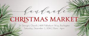 Handmade Christmas Market @ St. George's Anglican Church, Burlington | Burlington | Ontario | Canada
